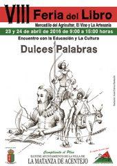 Feria del Libros 2016 en La Matanza de Acentejo, Mercadillo del Agricultor, el Vino y la Artesanía