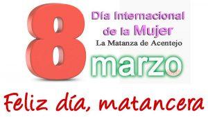 Dia Internacional de la Mujer 2016 en el Mercadillo de La Matanza de Acentejo