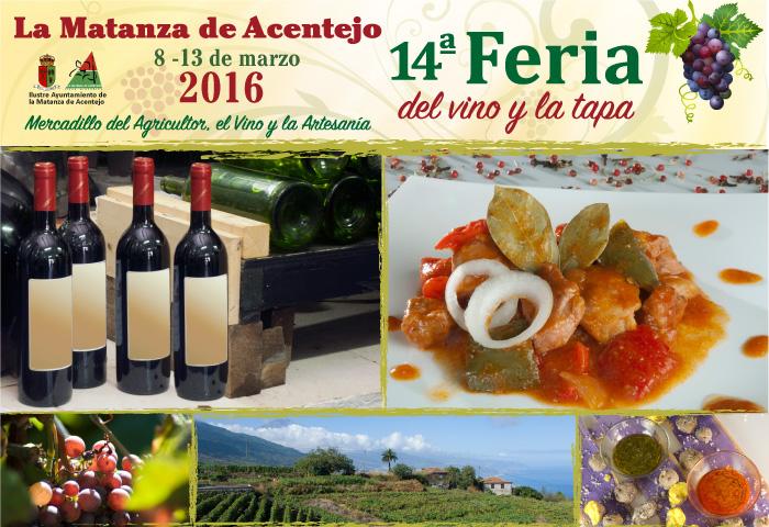 XIV Feria del Vino y la Tapa 2016 en el Mercadillo del La Matanza de Acentejo
