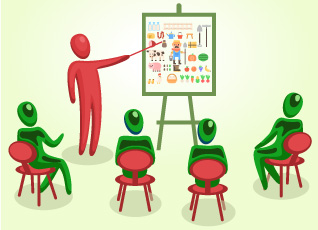 Los cursos formativos