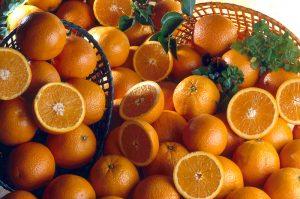 Naranja en el Mercadillo de La Matanza de Acentejo