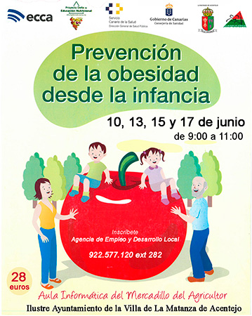 Prevención de la obesidad desde la infancia en La Matanza de Acentejo