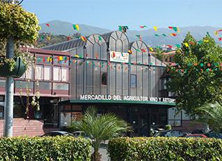 Las instalaciones del Mercadillo
