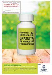 Campaña gratuita para la retirada de restos de productos fitosanitarios en La Matanza de Acentejo