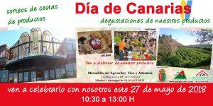 DÍA DE CANARIAS EN EL MERCADILLO DEL AGRICULTOR