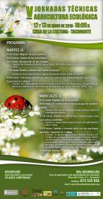 V JORNADAS AGRICULTURA ECOLÓGICA